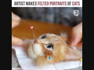 Валяные котики