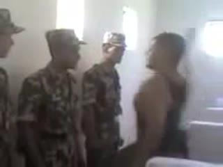 Дедовщина в узбекской армии