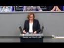 Beatrix von große Debatte über den Etat des Familienministeriums im Bundestag