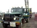 Kraz 256 incarcare draglina nobas pe trailer