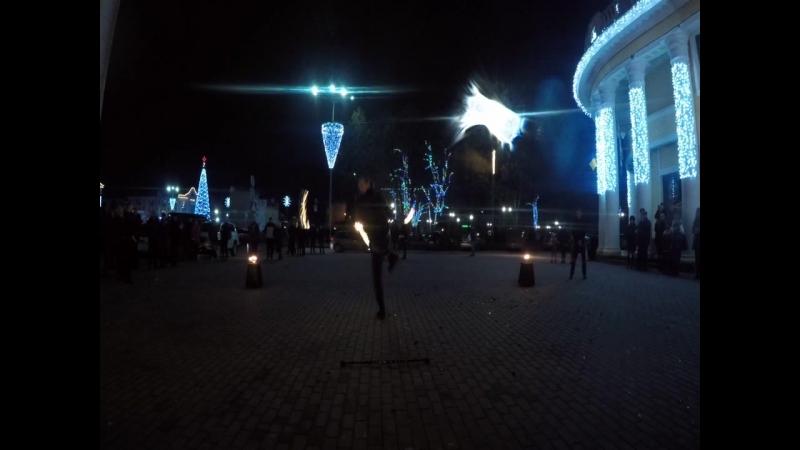 Фаер шоу от коллектива REITON, Чернигов