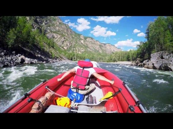 ВОДОМЕТНОЕ САФАРИ на реке Кызыл-Хем. Прохождение порога Узкий | Экстримальный отдых в Тыве