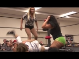 Kacee Carlisle vs Jordynne Grace with Maria Manic as referee