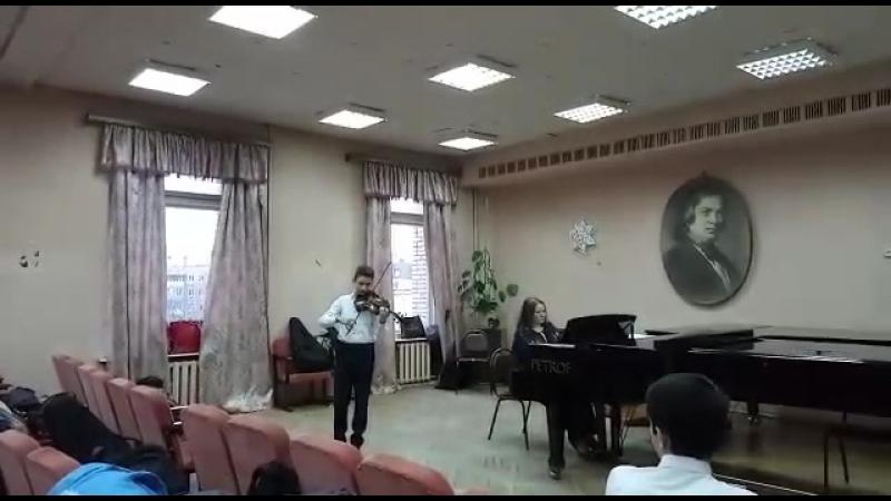 30 03 18 Самир Абышов на конкурсе Краски музыки в ДМШ им Прокофьева