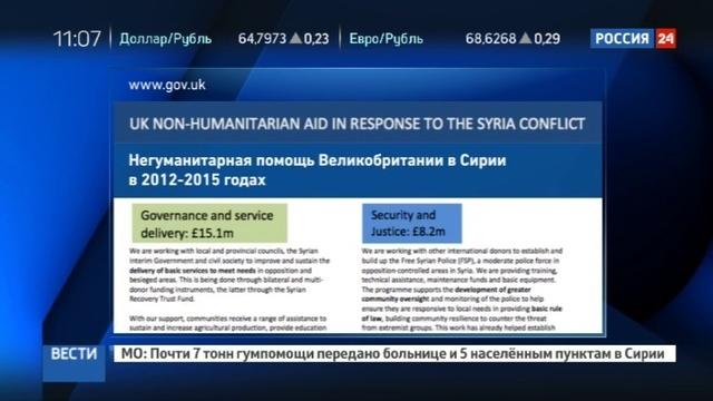 Новости на Россия 24 • Сирийскую дезинформацию оплачивают британцы