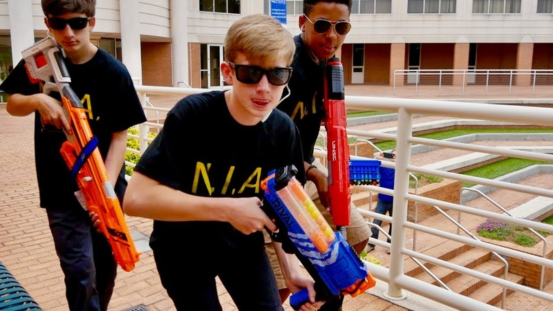 Nerf War: N.I.A. Security Operation