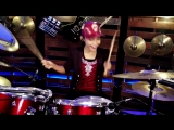 Alan Walker - Faded Drum Cover by Nur Amira Syahira [Rip by Asat]