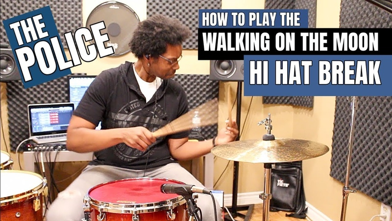 The 'WALKING ON THE MOON' HI HAT BREAK - How To PLAY IT!