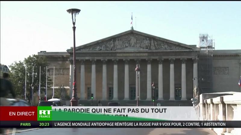 «Le journal de l'Elysée», le compte Twitter qui hérisse le poil de certains élus LREM.mp4.mp4