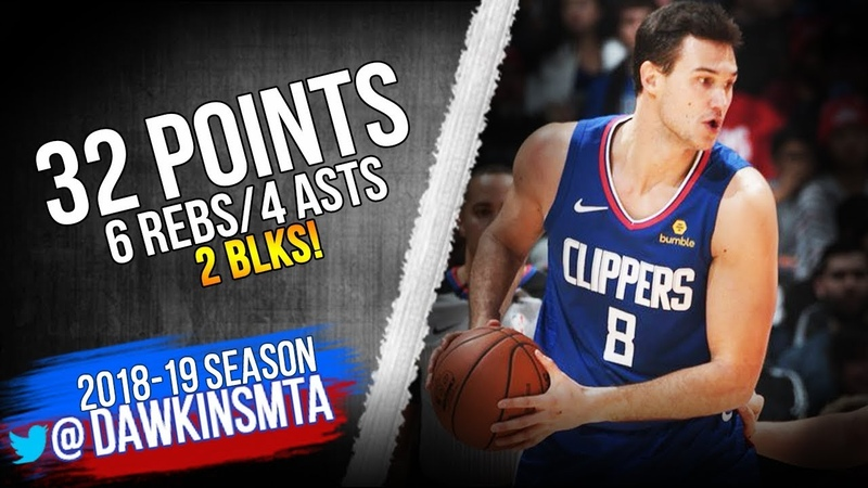 Danilo Gallinari Full Highlights 2018 12 20 Mavs vs Clippers 32 Pts 4 Asts 2 Blks FreeDawkins