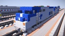 Minecraft Amtrak P32AC DM P 40 42DC GE Genesis Tutorial