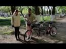 Как незрячие люди катаются на велосипеде_ How do blind people ride a bike_ ( 180 X 320 ).3gp