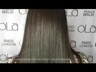 Окрашивание тон в тон на длинные волосы (стилист Николай Архипов)