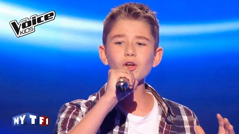 The Voice Kids France 2016 | Esteban - Envole Moi (Jean-Jacques Goldman) | Blind Audition