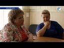 Елена Писарева посетила социальные учреждения Хвойнинского района