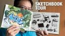 Sketchbook Tour (Oct 2016 - Oct 2017)