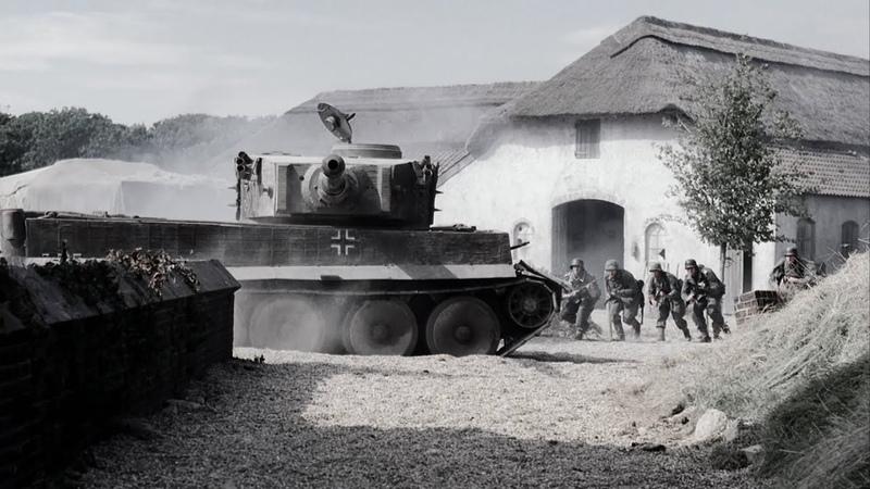 Братья по оружию 2001 Немецкие танки встречают американцев Brothers in arms 2001