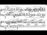 Samuel Barber - Nocturne for Piano, Op. 33 (1959) Score-Video