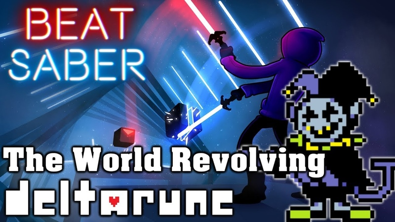 Beat Saber - The World Revolving - Deltarune (custom song) | FC