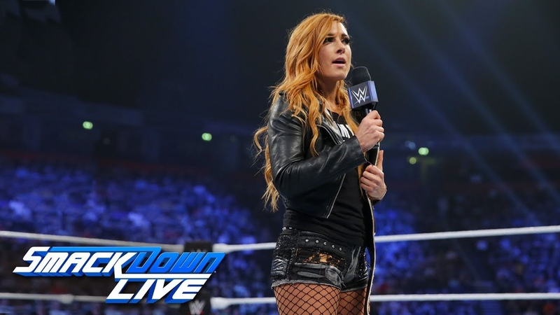Becky Lynch responds to Ronda Rousey and issues an open challenge SmackDown LIVE, Nov. 6, 2018