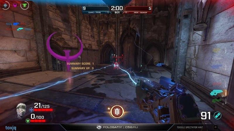 Clawz Toxjq vs. Xron Silencep – Final, GO4QC EU 3 – Quake Champions
