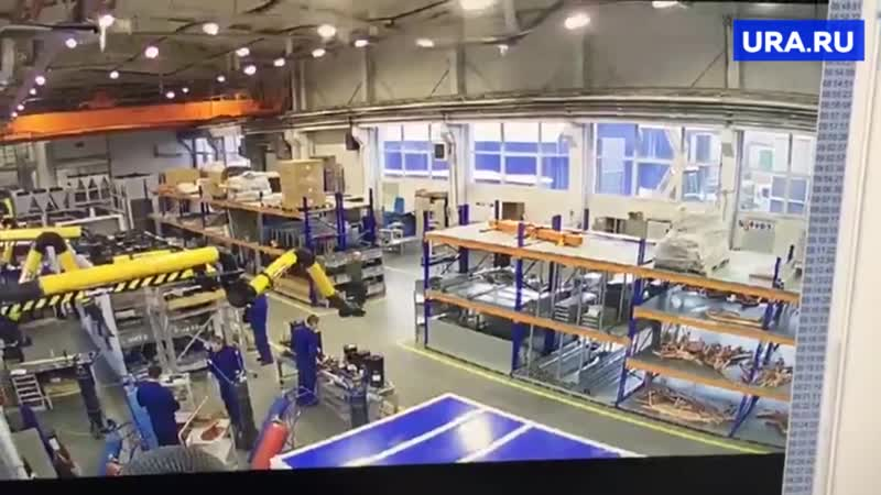 На заводе в Дзержинске обрушилась крыша