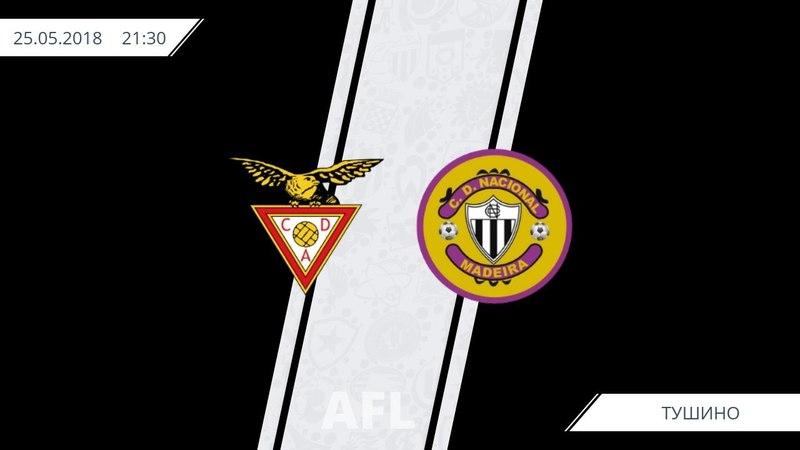 AFL18. Portugal. Primera. Day 8. Aves - Nacional