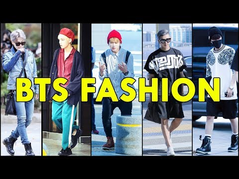 BTS FASHION RANKING (Bangtan Street Style And Airport Fashion)