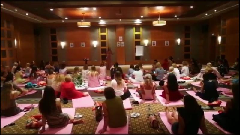 Выездной тренинг Круг женской силы 2018, день первый