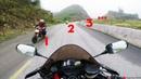 Gặp Đoàn Ducati dài như cái bơm trên Thung Khe Motovlog CBR600