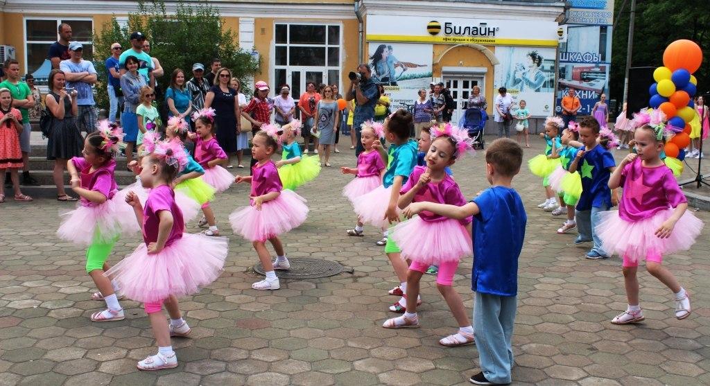 День защиты детей прошел в Биробиджанской епархии