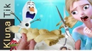 FROZEN ELSA HAIRCUT Kluna Tik | ASMR eating sounds no talk. Frozen elsa walt disney animation