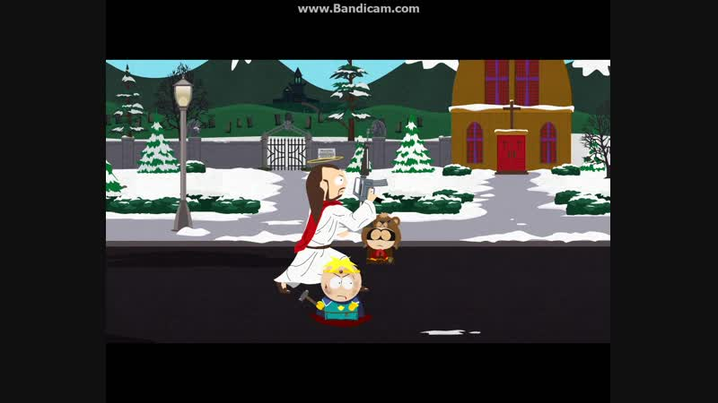 South Park - The Stick of Truth Иисус в помошь