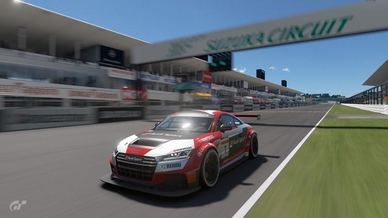 GT SPORT - Audi TT Cup GT4 - Suzuka Circuit - Time Attack - 2:09.817