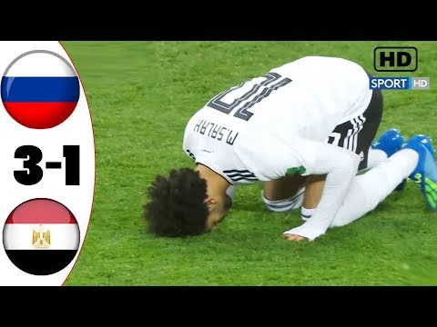RUS vs EGP 3-1 Extended Highlights /\ World Cup Russia 2018 - 19/6/2018