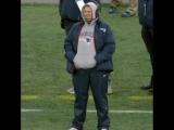 Bill Belichick is watching his team score touchdowns