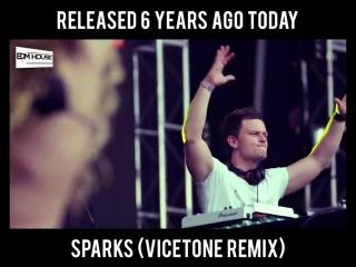Fedde Le Grand & Nicky Romero - Sparks (Vicetone Remix)