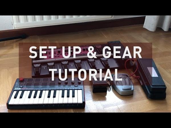 Set up Gear tutorial - BOSS RC 300 AKAI MPK mini 2 GarageBand | From the attic