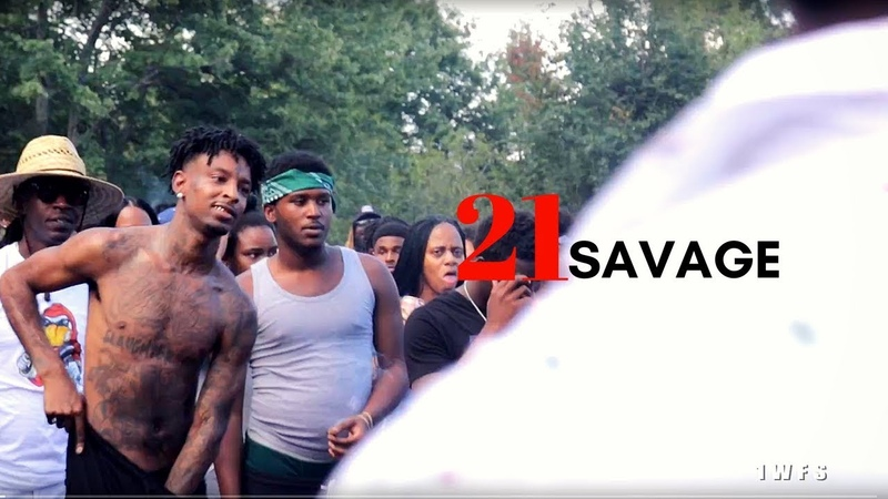 21 Savage Young Scooter VL Deck ZONE 6 DAY 2018 shot by @1way films
