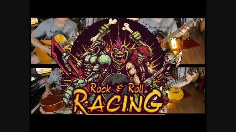 Rock N Roll Racing Músicas do Game por Fabio Lima (Black Sabbath, Deep Purple, Steppenwolf...)