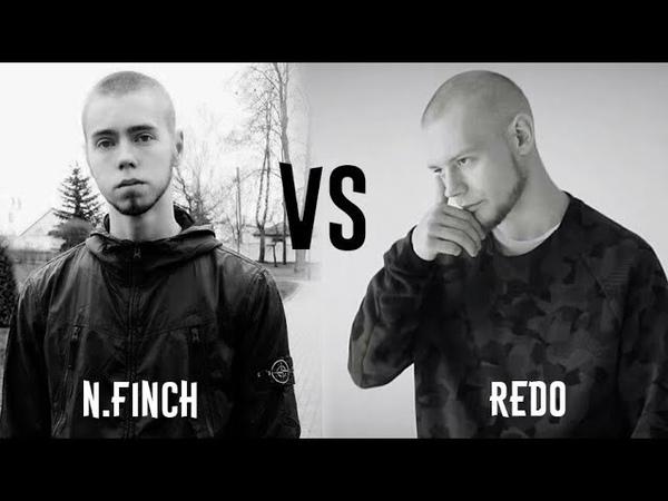 1 N.FINCH VS REDO | КТО КРУЧЕ ЗАСТЕЛИЛ ПОД БИТ? | RUSSIAN GRIME