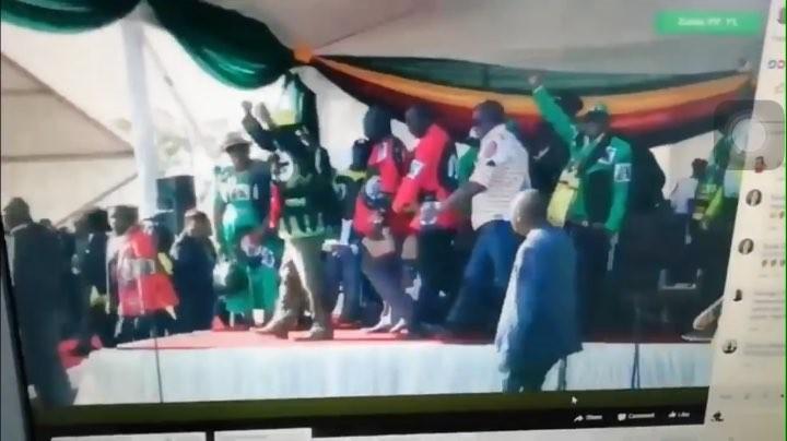 Попытка убийства президента Зимбабвы 23.06.2018