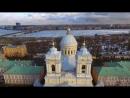 Александро Невская Лавра с высоты птичьего полета