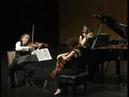 Arensky piano trio mvts 3 and 4