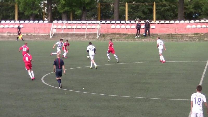 Поділля U 15 vs Березне Рівненська обл U 15 13 05 2018 2 й тайм Ю