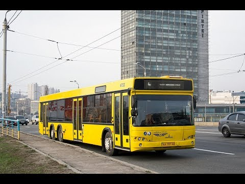 Автобус №9|Bus №9 Вул. Булгакова - Ст.м. Лук'янівська