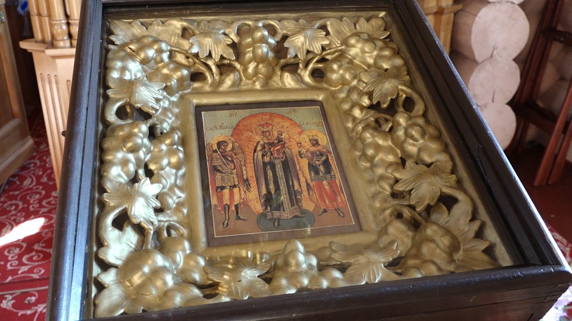 В селе Аннино Михайловского района прошёл праздник освящения нового Успенского храма.