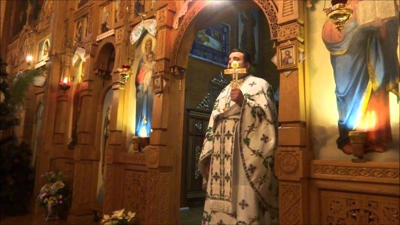Проповідь прот Михайла Садовського в свято Собору Іоана Хрестителя
