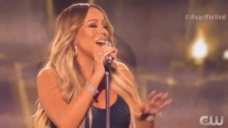 Mariah Carey songs get everybody in their feelings (iHeartRadio Fest)