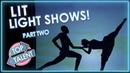 Невероятные световые и лазерные шоу! Часть Вторая / Лучшие Таланты
